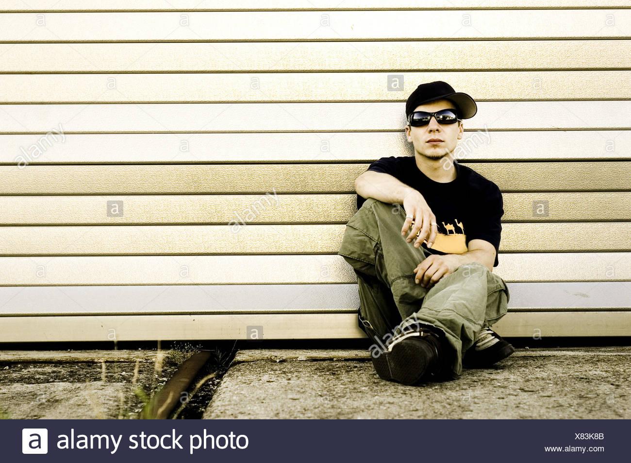 Adolescente,cultura giovanile Immagini Stock