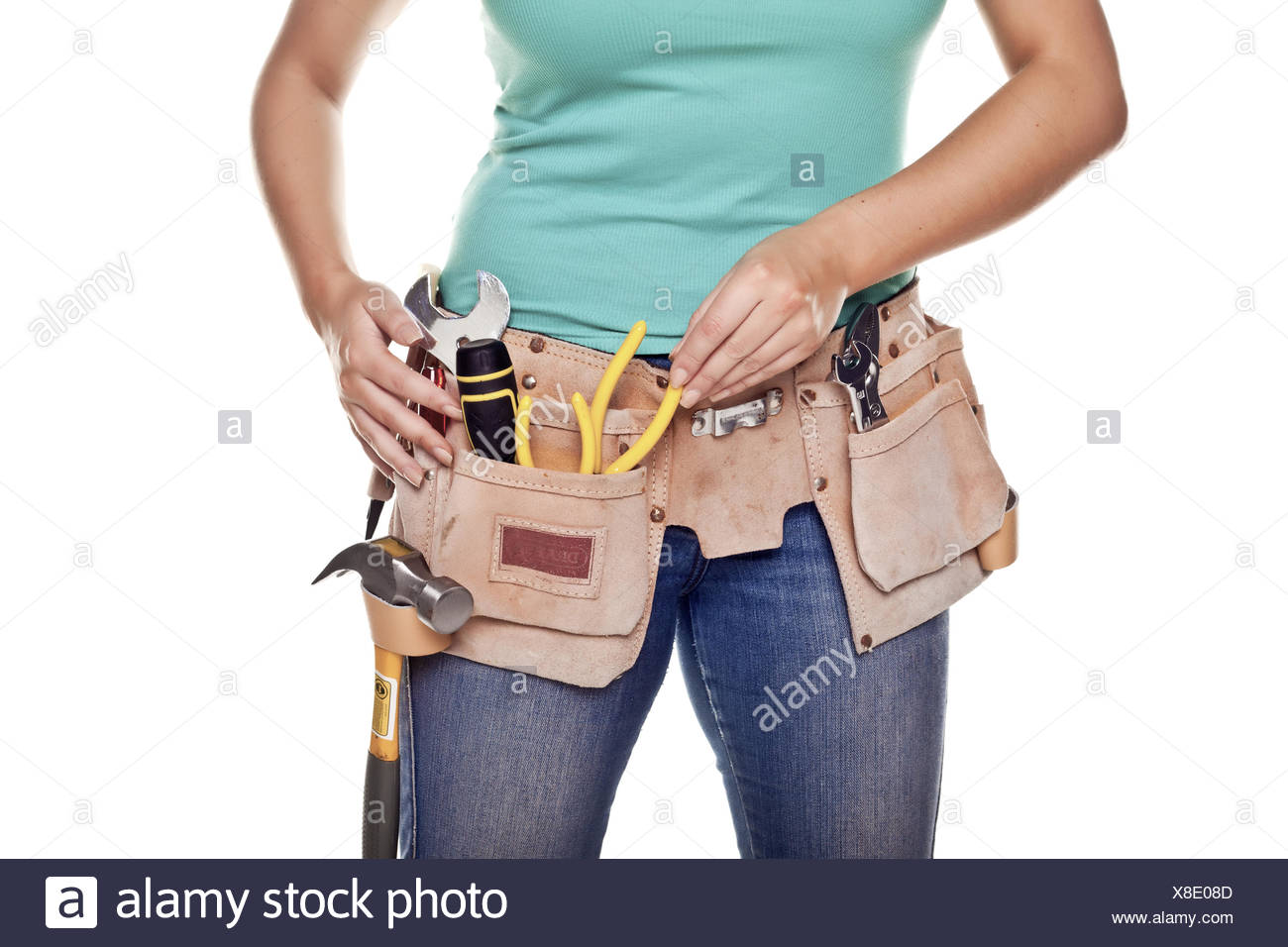 Donna di DIY. Immagini Stock