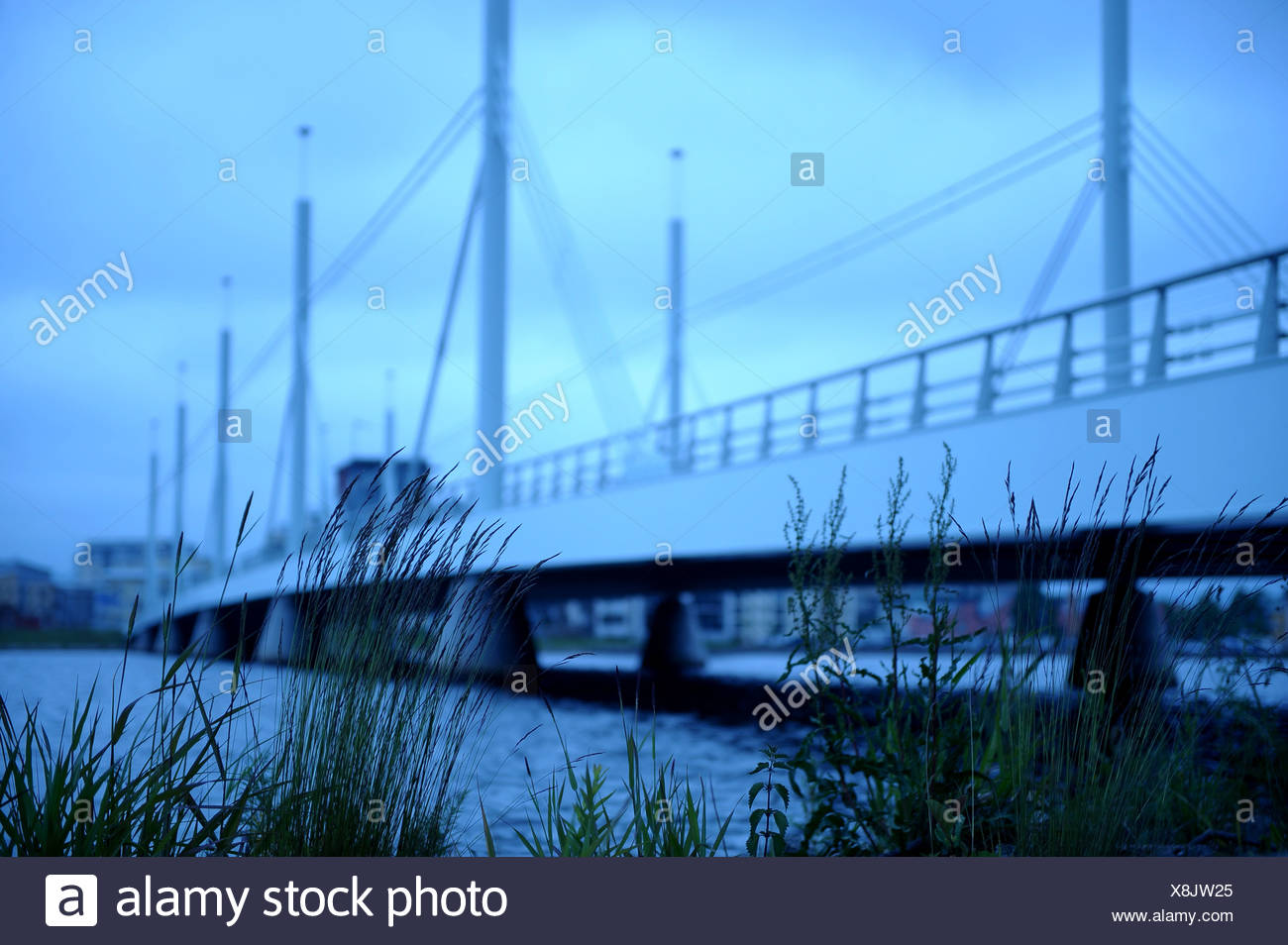 Ponte misterioso Immagini Stock