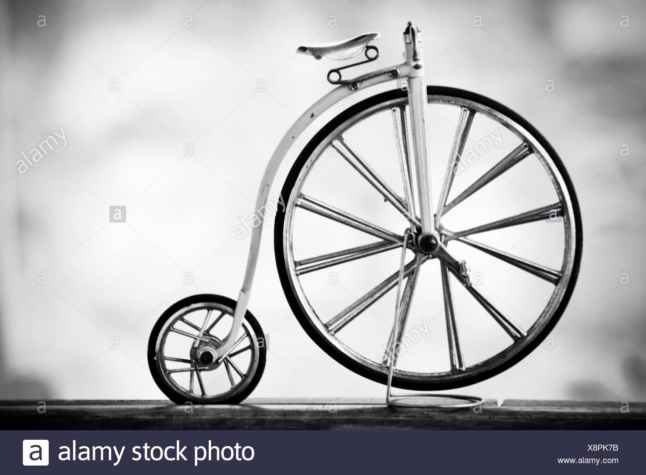 Normale Bicicletta O Penny Farthing Bike Era Famosa Fin Dai Primi