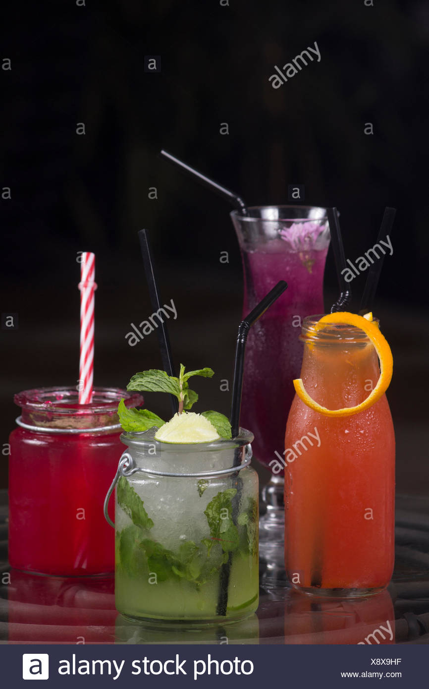 Mocktail, Pune, India Immagini Stock