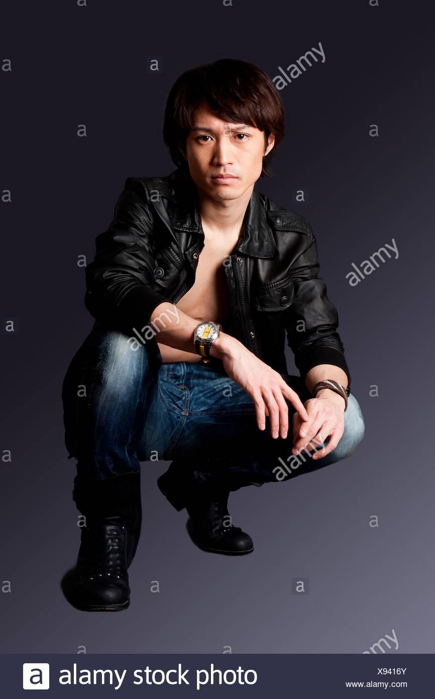 Nudo asiatico maschio modelli