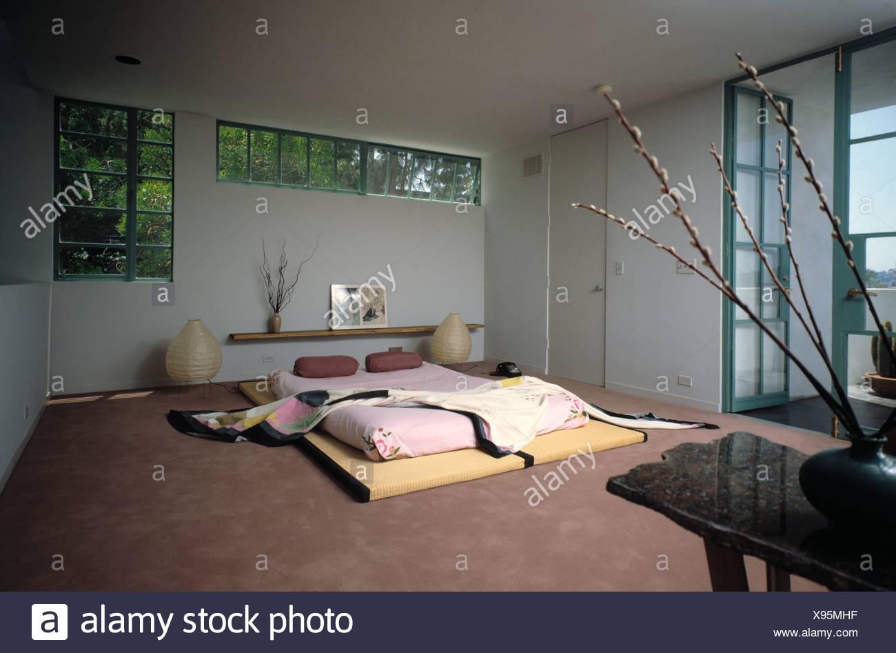 Camera Da Letto Giapponese stile giapponese camera da letto foto & immagine stock