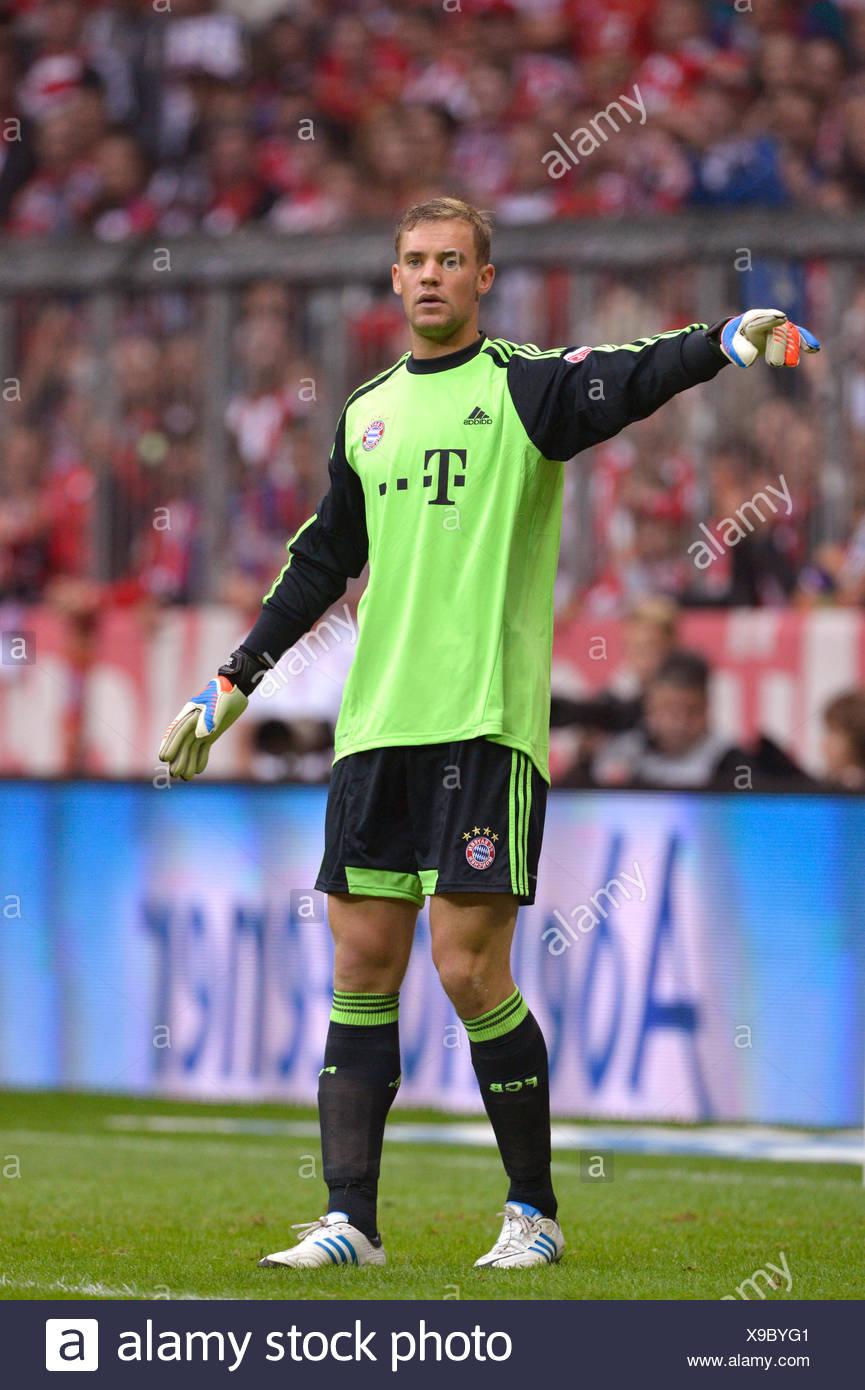 Manuel Neuer, portiere del FC Bayern Monaco, stadio Allianz Arena ...