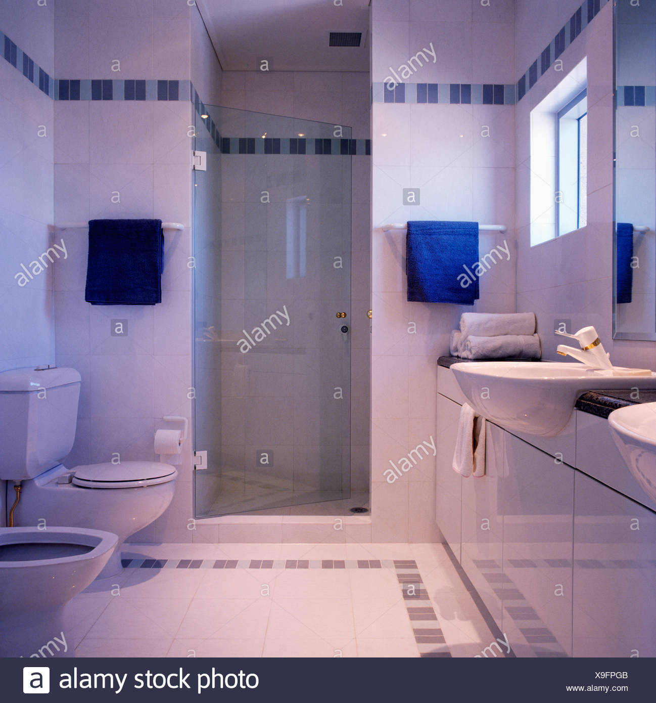 Piastrelle bagno bianco e blu il piastrelle bagno bianche per davvero with piastrelle bagno - Bagno bianco e blu ...