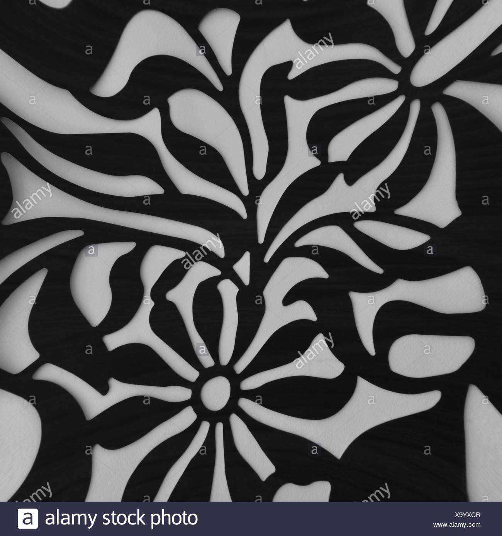 Vintage Motivo Floreale Motif La Natura Dello Sfondo Fiori Distorto