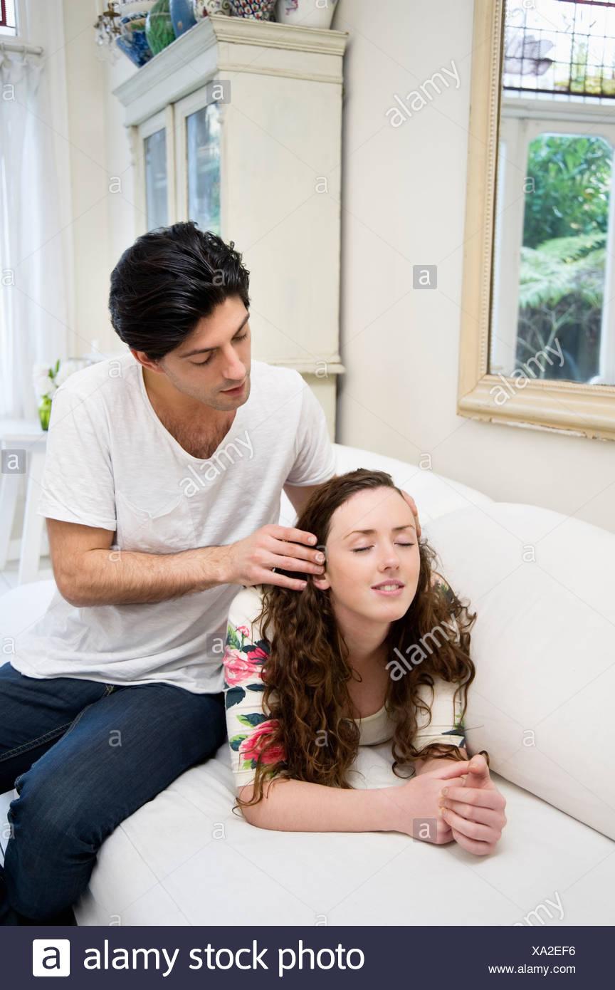 Strofinare e rimorchiatore massaggio porno