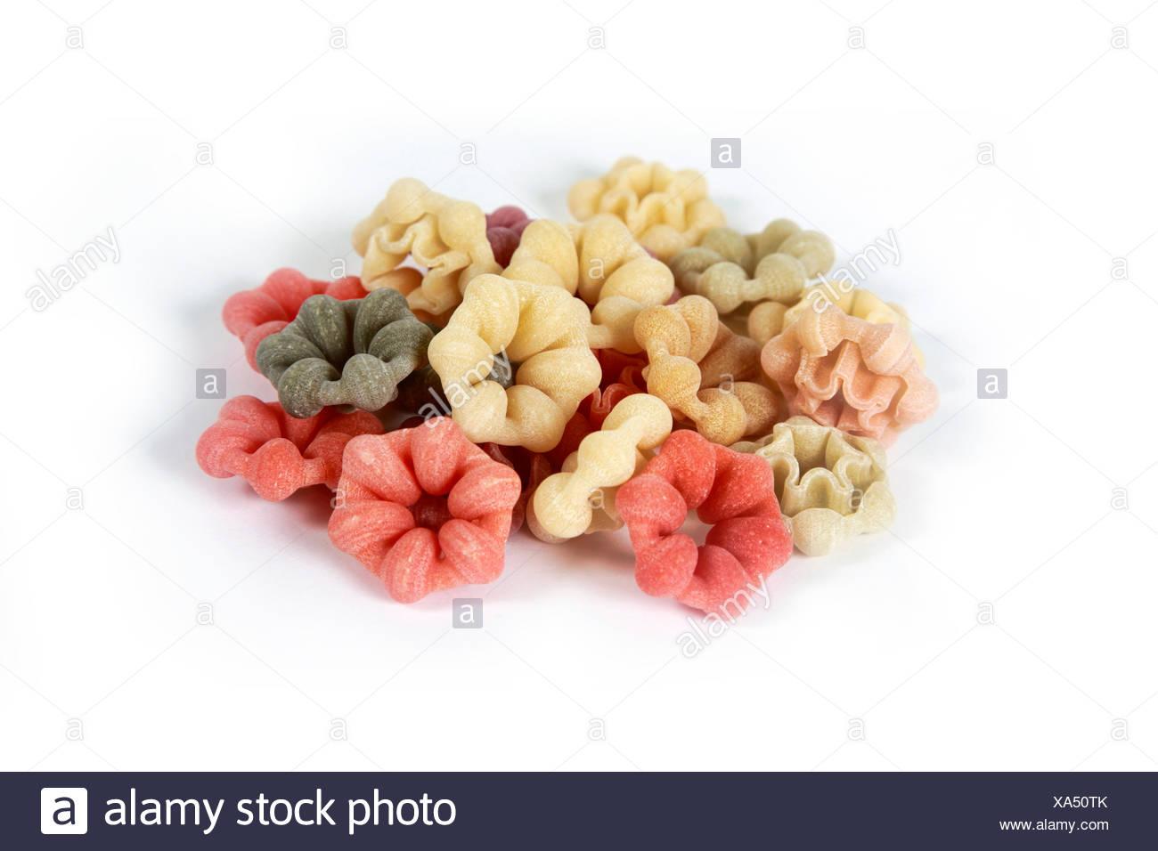 Mucchio di pasta Immagini Stock