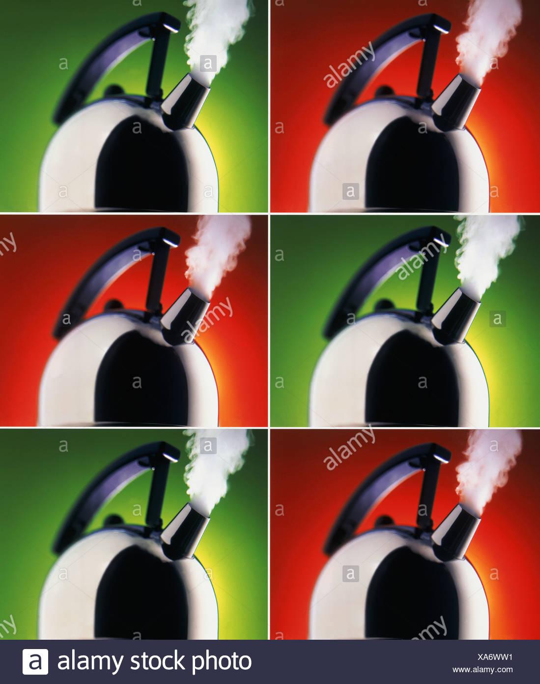 Bollitori scaricarsi, serie Immagini Stock