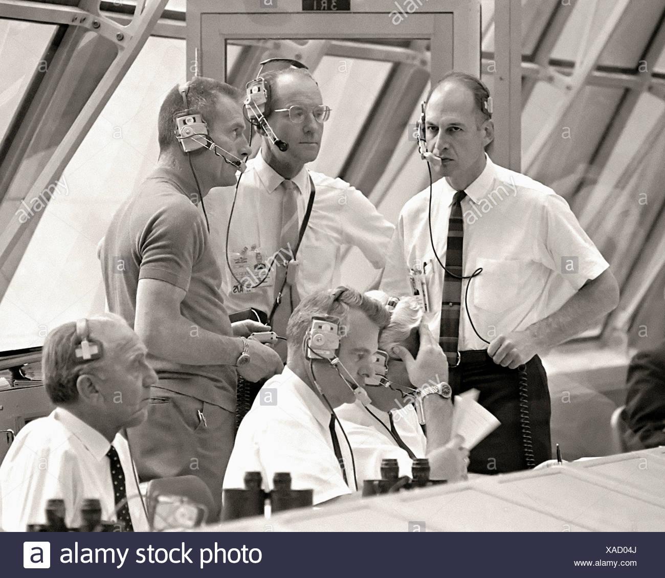 Mission Control Room per Apollo 10 Immagini Stock