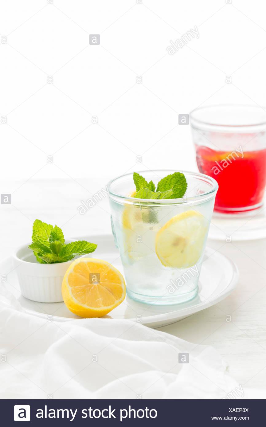 Ribes nero Mocktail Apple Immagini Stock