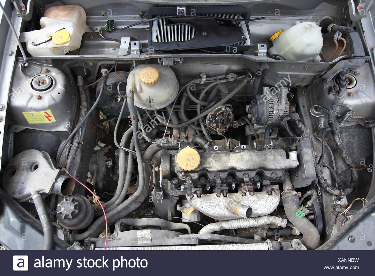 Blocco motore Immagini Stock
