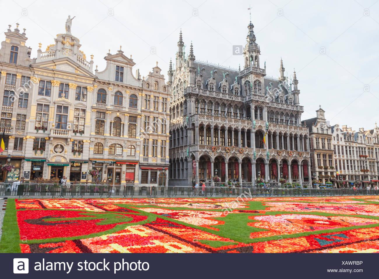 Tappeto Floreale Bruxelles : Brussel belgio augusto tappeto dei fiori nel quadrato