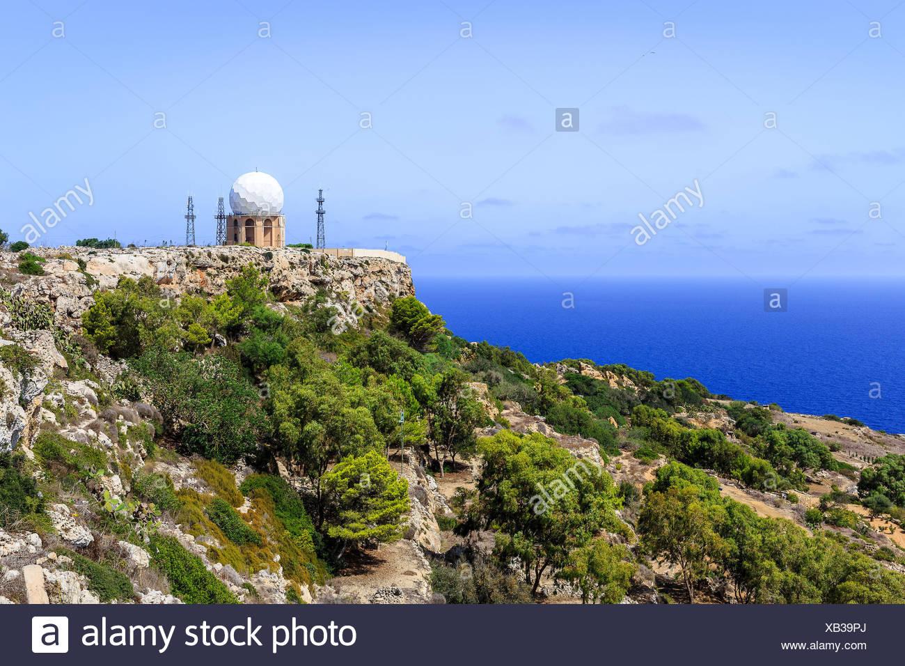 Malta, ufficialmente conosciuta come la repubblica di malta è un southern isola europea paese costituito da un arcipelago nel Mar Mediterraneo. Immagini Stock