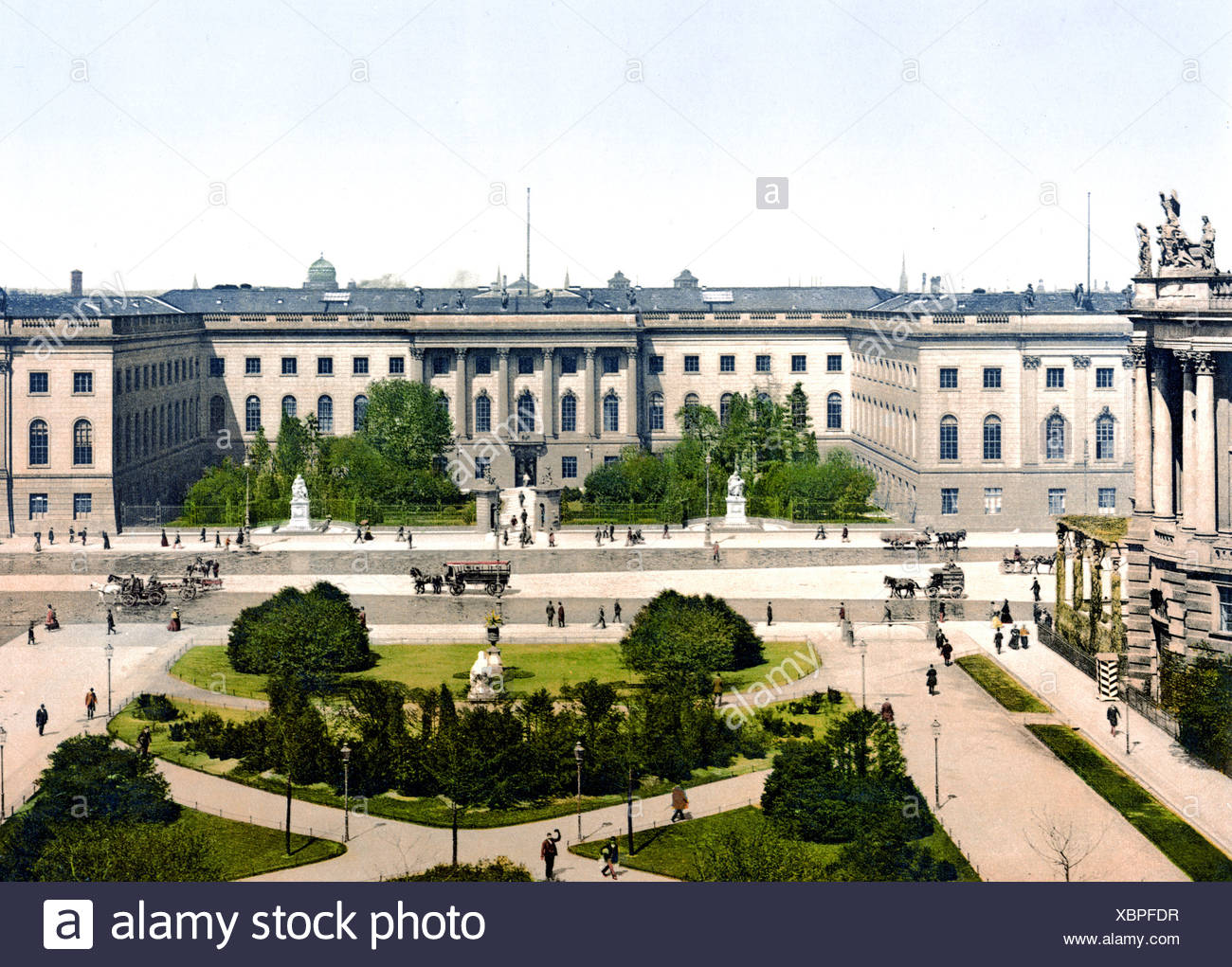 Die Universität di Berlino Immagini Stock
