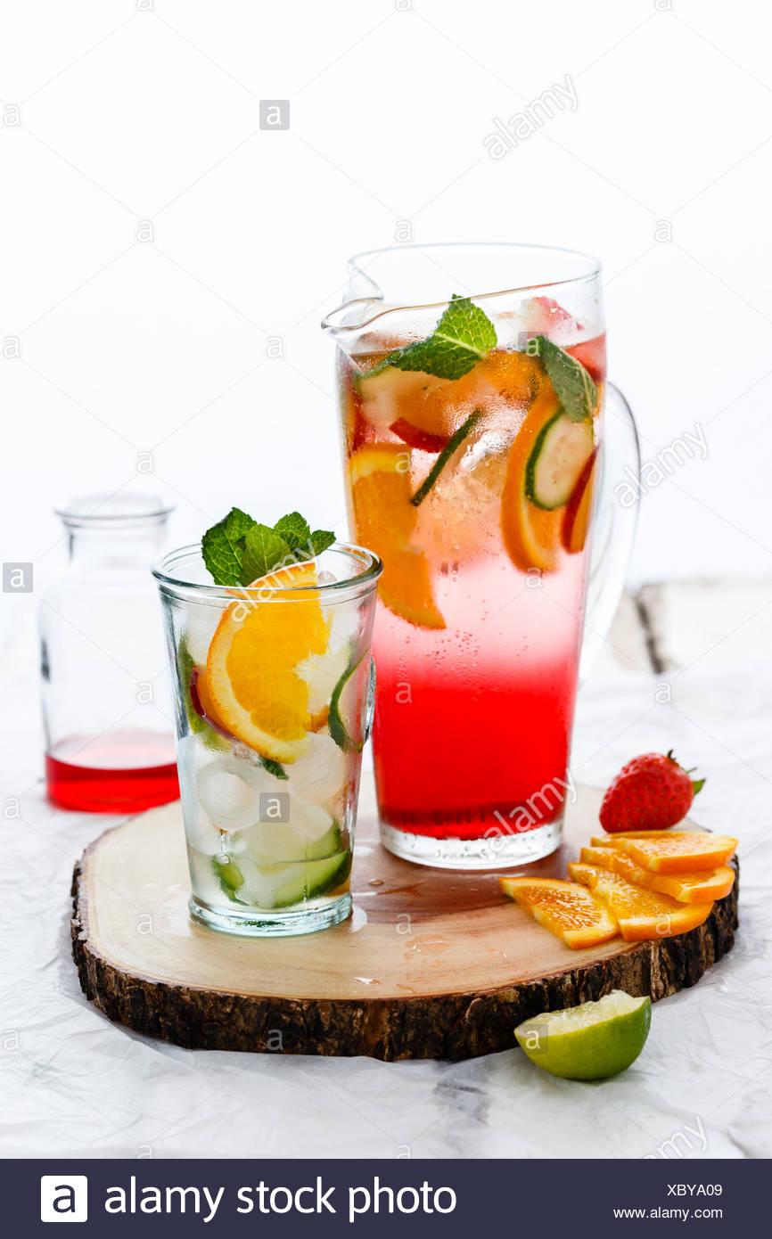 Gin Tonic & Immagini Stock