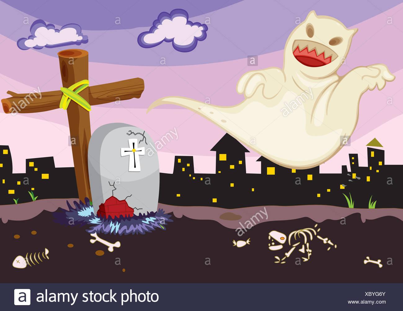 Morte di cartone animato immagini & morte di cartone animato fotos