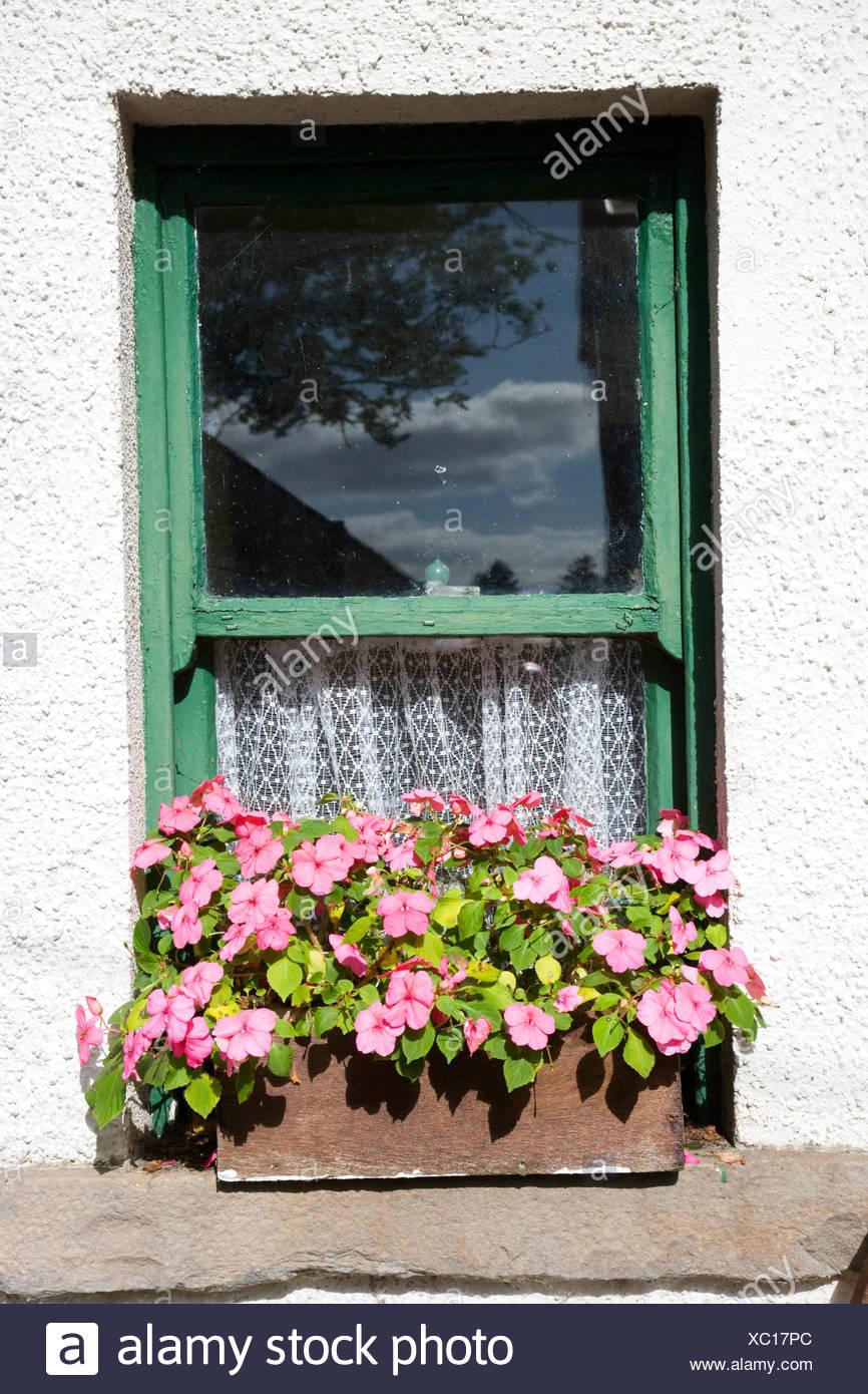 Repubblica di Irlanda, nella contea di Sligo Sligo folk park Immagini Stock