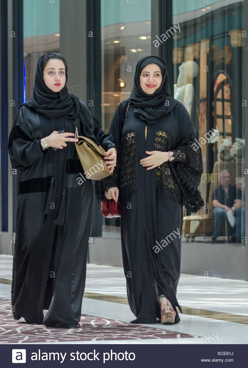 Emirati Arabi Uniti Dubai, Dubai Mall, donne arabe Foto ...