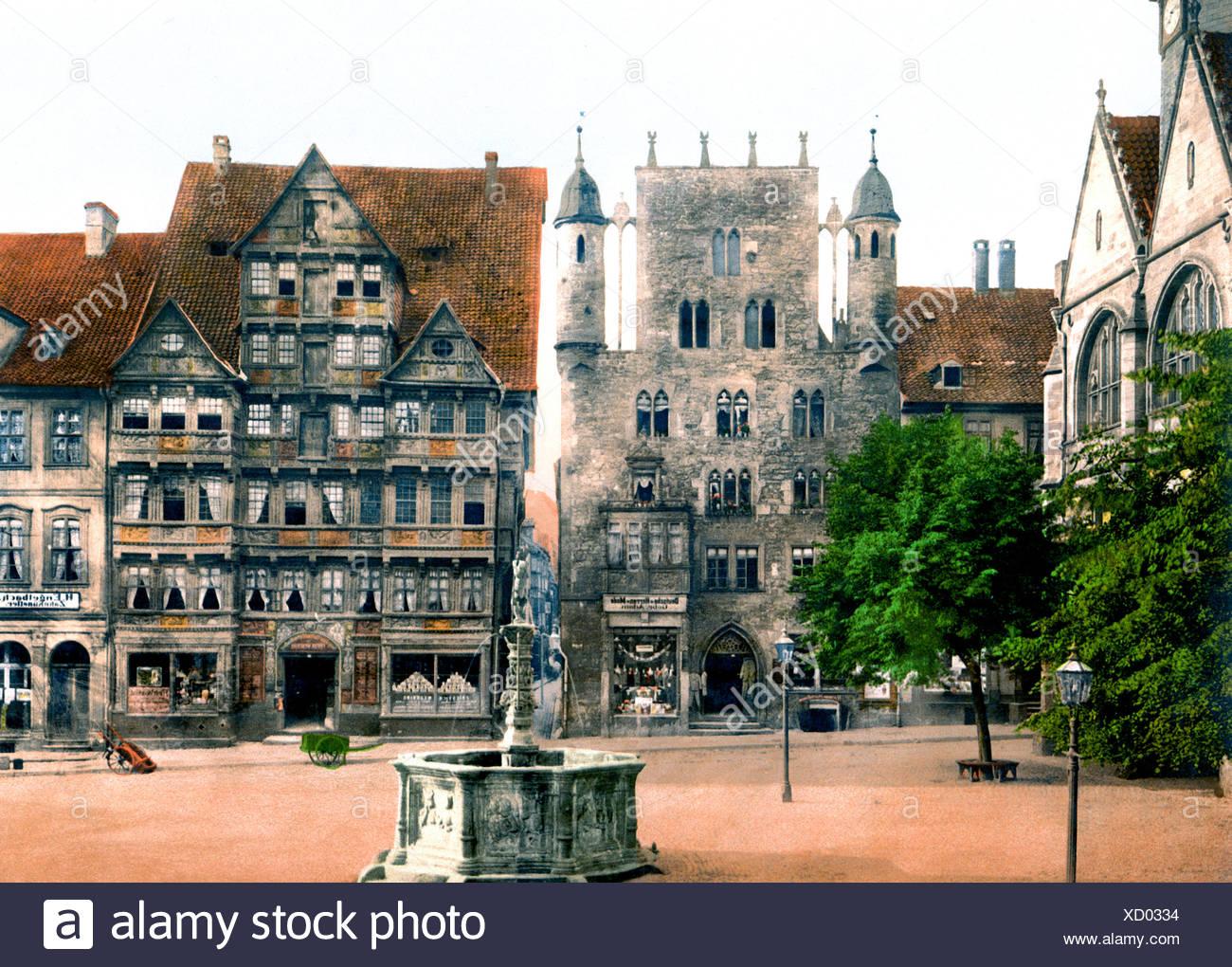 Tempelherrenhaus Hildesheim Immagini Stock