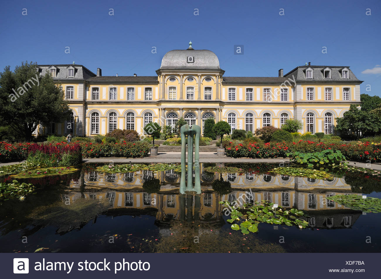 Giardino Botanico, Bonn Poppelsdorf di Bonn, Renania settentrionale-Vestfalia Immagini Stock