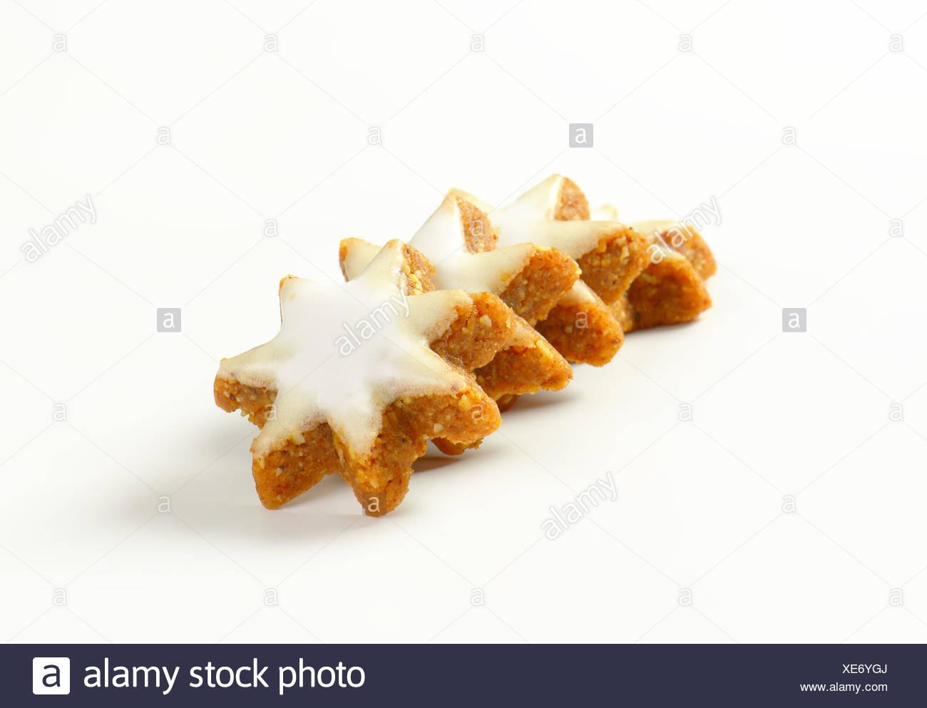Biscotti Di Natale Zimtsterne.Zimtsterne Cannella Stelle Tedesco Tradizionali Biscotti Di Natale Foto Stock Alamy