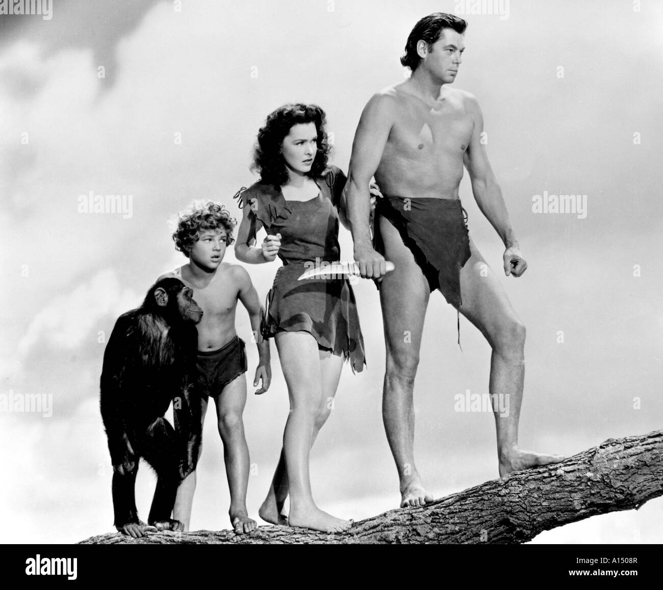 Tarzan Escapes Year 1936 Director Richard Thorpe Johnny
