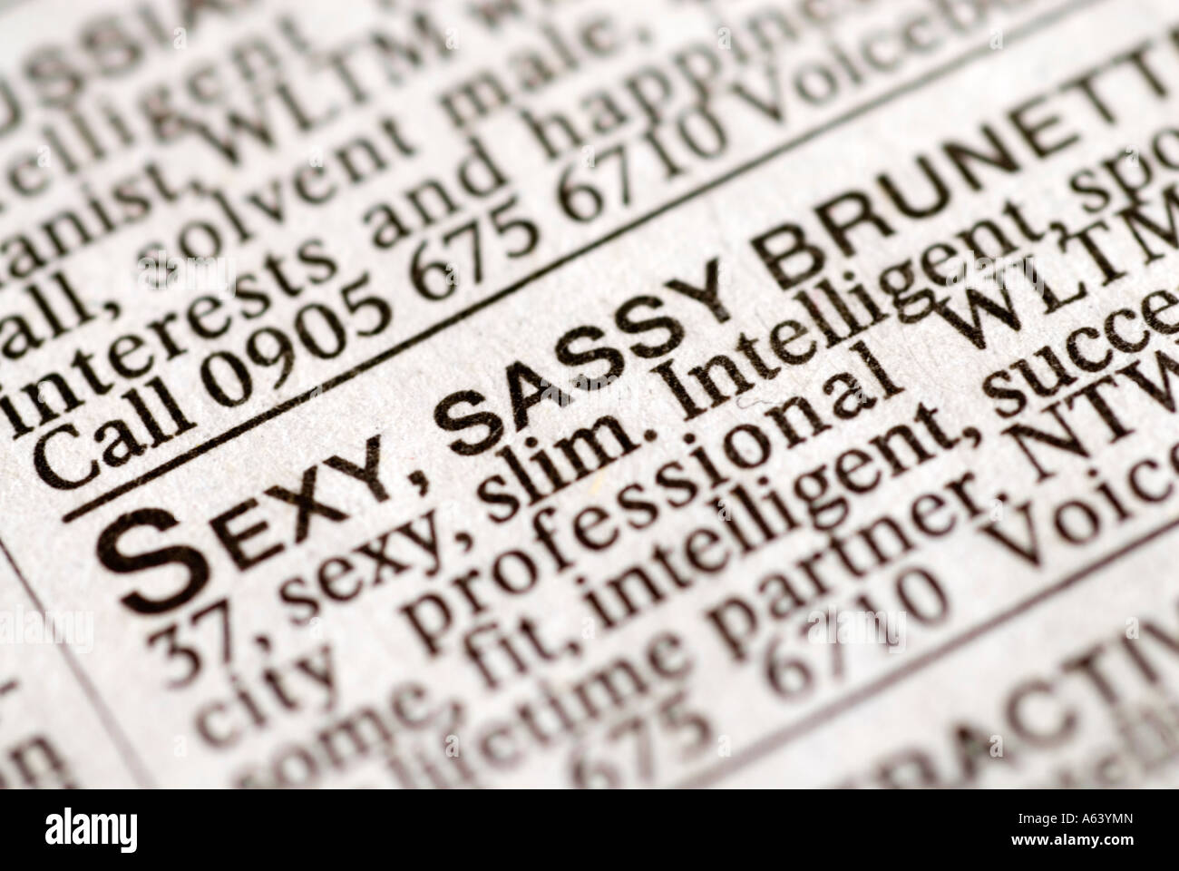 Voice newspaper dating classifieds