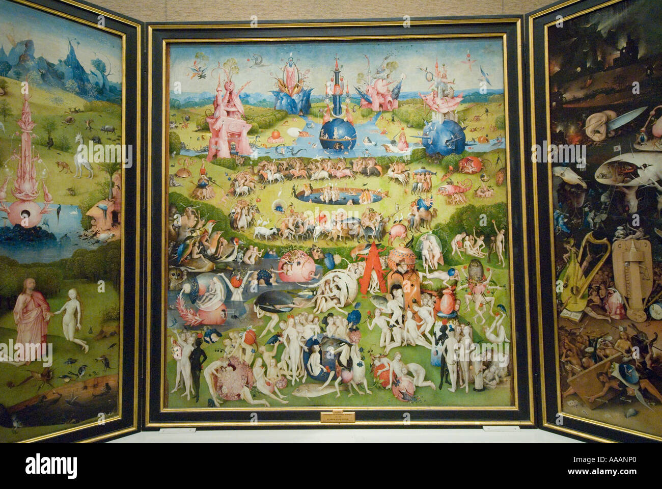 The Garden of Earthly Delights painting by Hieronymous Bosch