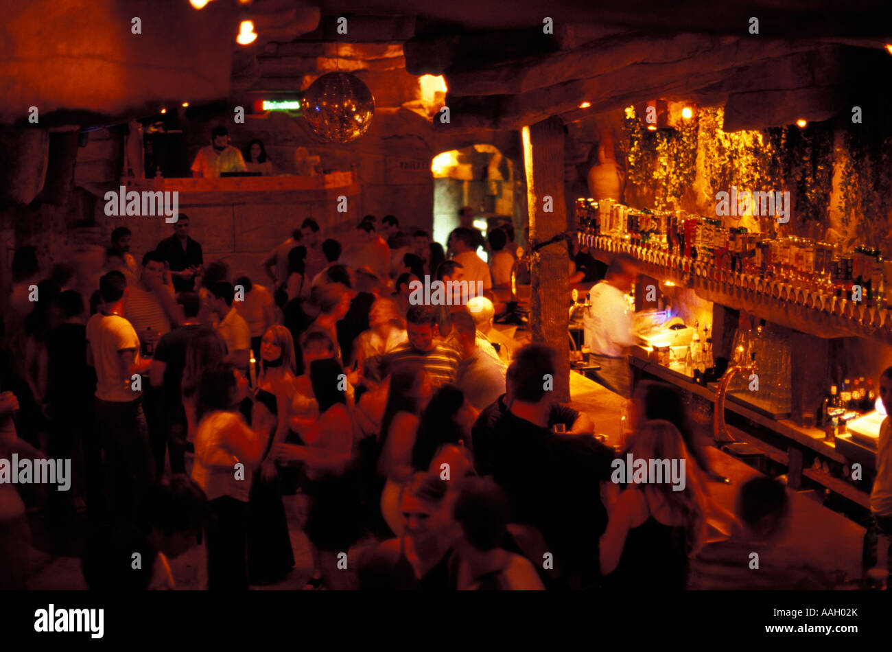 People dancing in the Havanna Club Paceville St Julian s