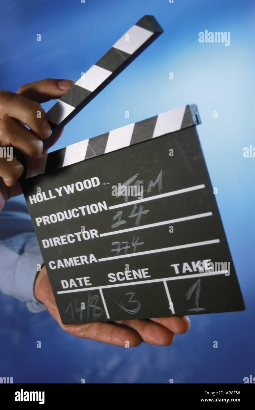 Filme leve Imagens de Stock