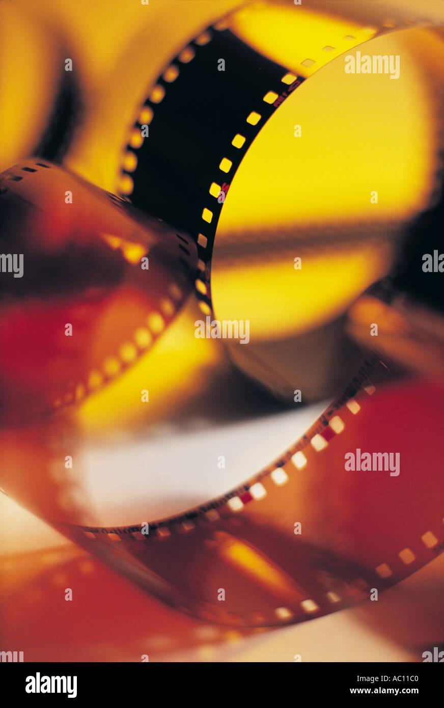 Tiras de filme Imagens de Stock