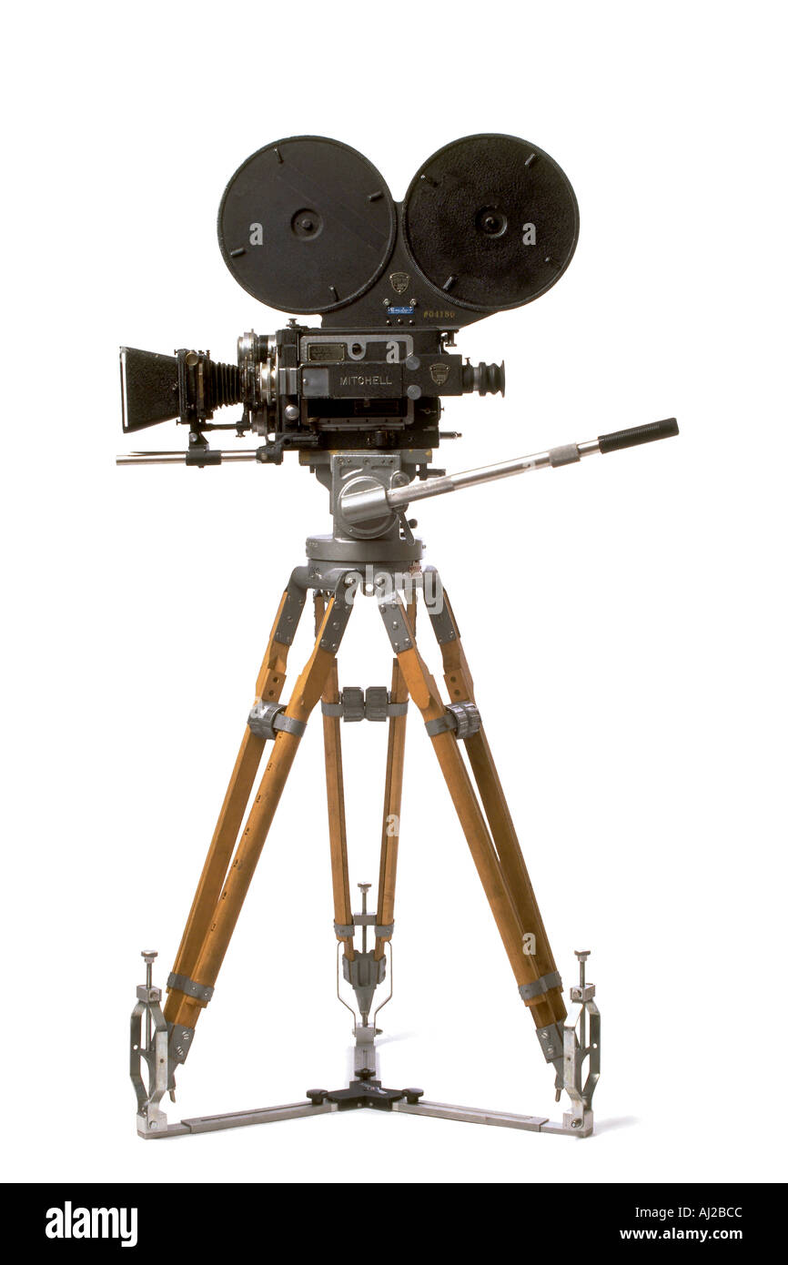 Câmera de Filme antigo Imagens de Stock