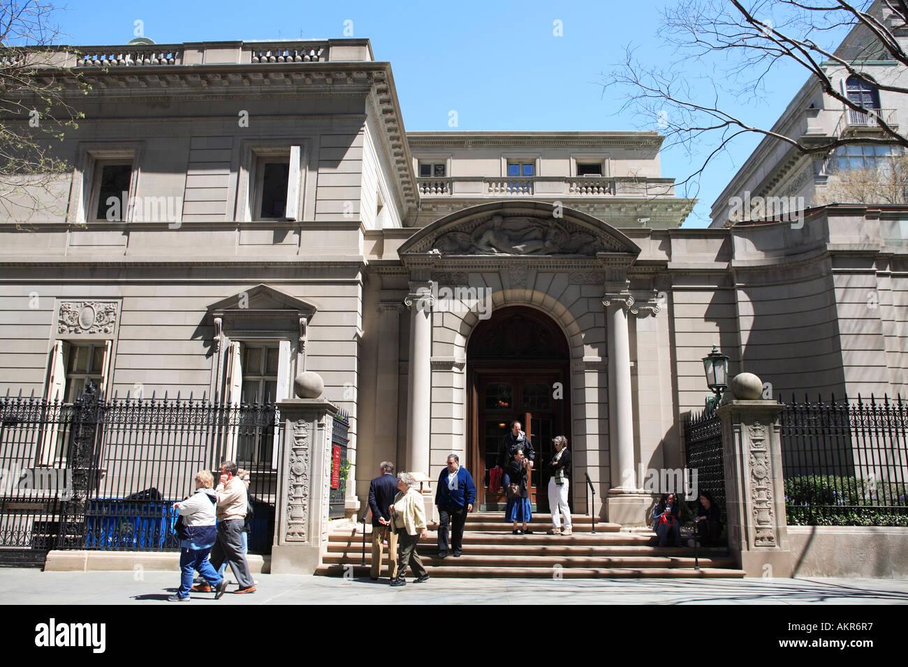 A Frick Museu Coleco De Manhattan Na Cidade Nova Iorque EUA