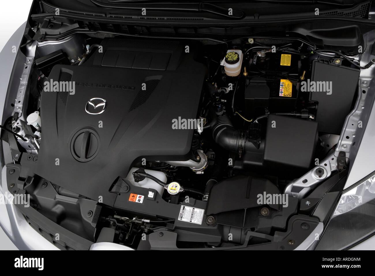 2007 Mazda CX 7 Grand Touring Em Cinza   Motor