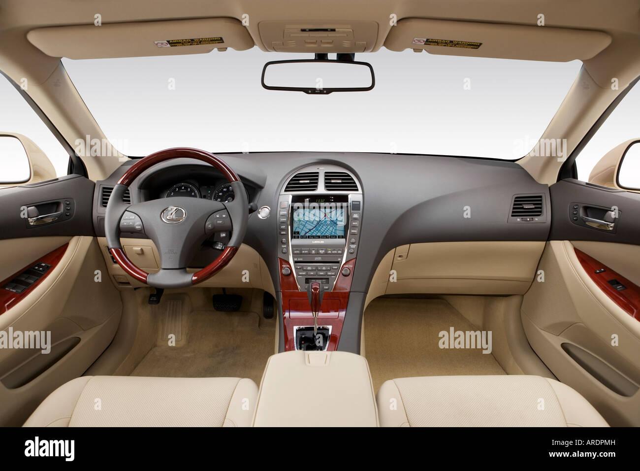 2007 Lexus ES 350 Em Ouro   Painel De Bordo, Consola Central, Vista De  Mudança De Marchas