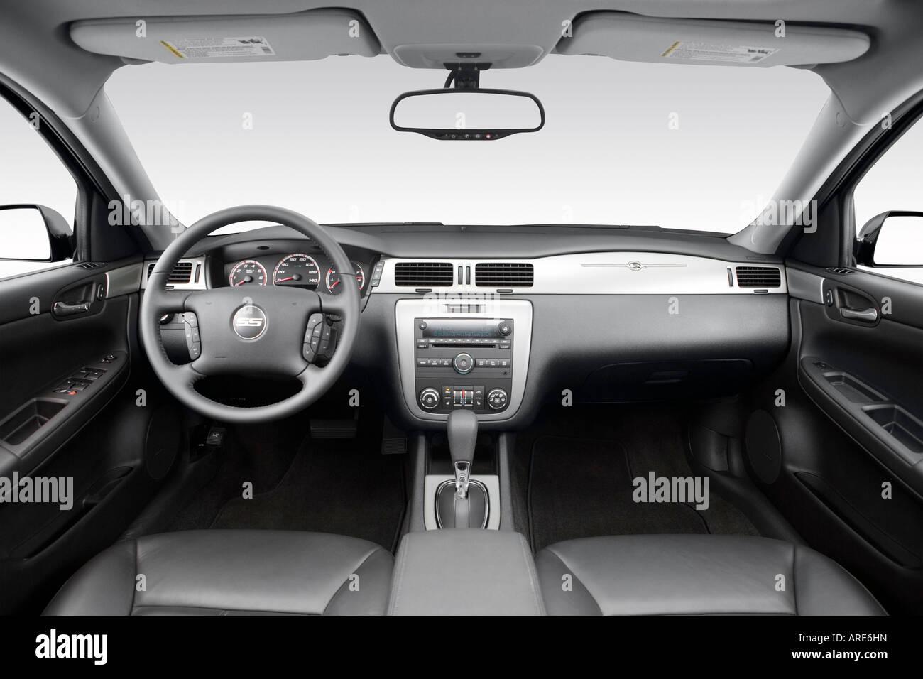 2006 Chevrolet Impala SS Em Preto   Painel De Bordo, Consola Central, Vista  De Mudança De Marchas