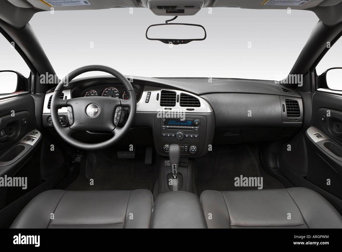 2007 Chevrolet Monte Carlo SS Em Preto   Painel De Bordo, Consola Central,  Vista De Mudança De Marchas