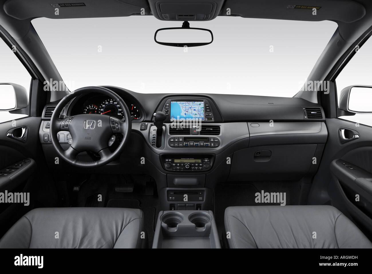 2007 Honda Odyssey Touring Em Prata   Painel De Bordo, Consola Central,  Vista De Mudança De Marchas