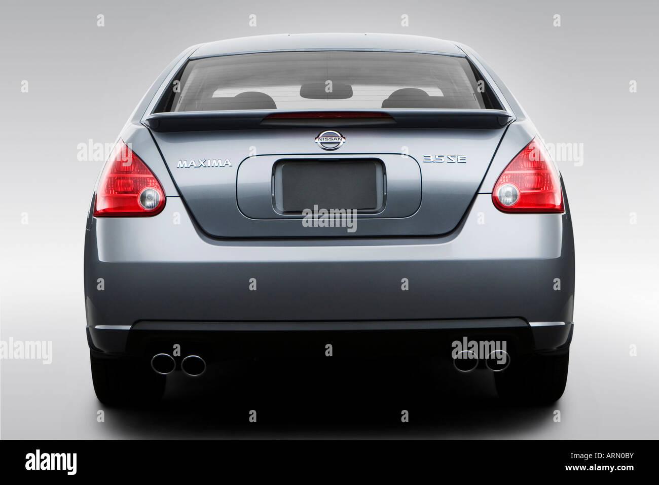 2008 Nissan Maxima 3.5 SE Em Cinza   Baixa/Traseiro Largo