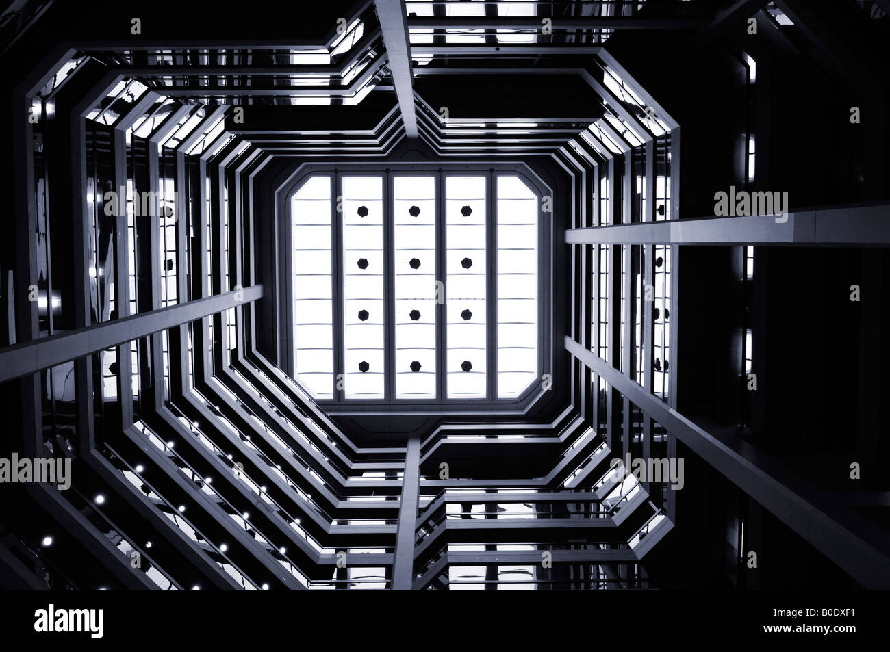 Arquitetura de resumo Imagens de Stock