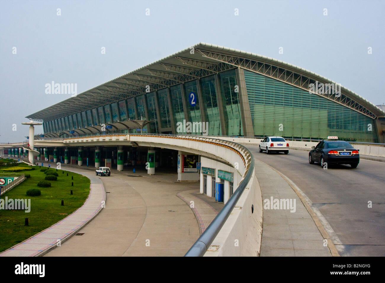 Xian Aeroporto : Xian yang aeroporto em xian china foto imagem de stock