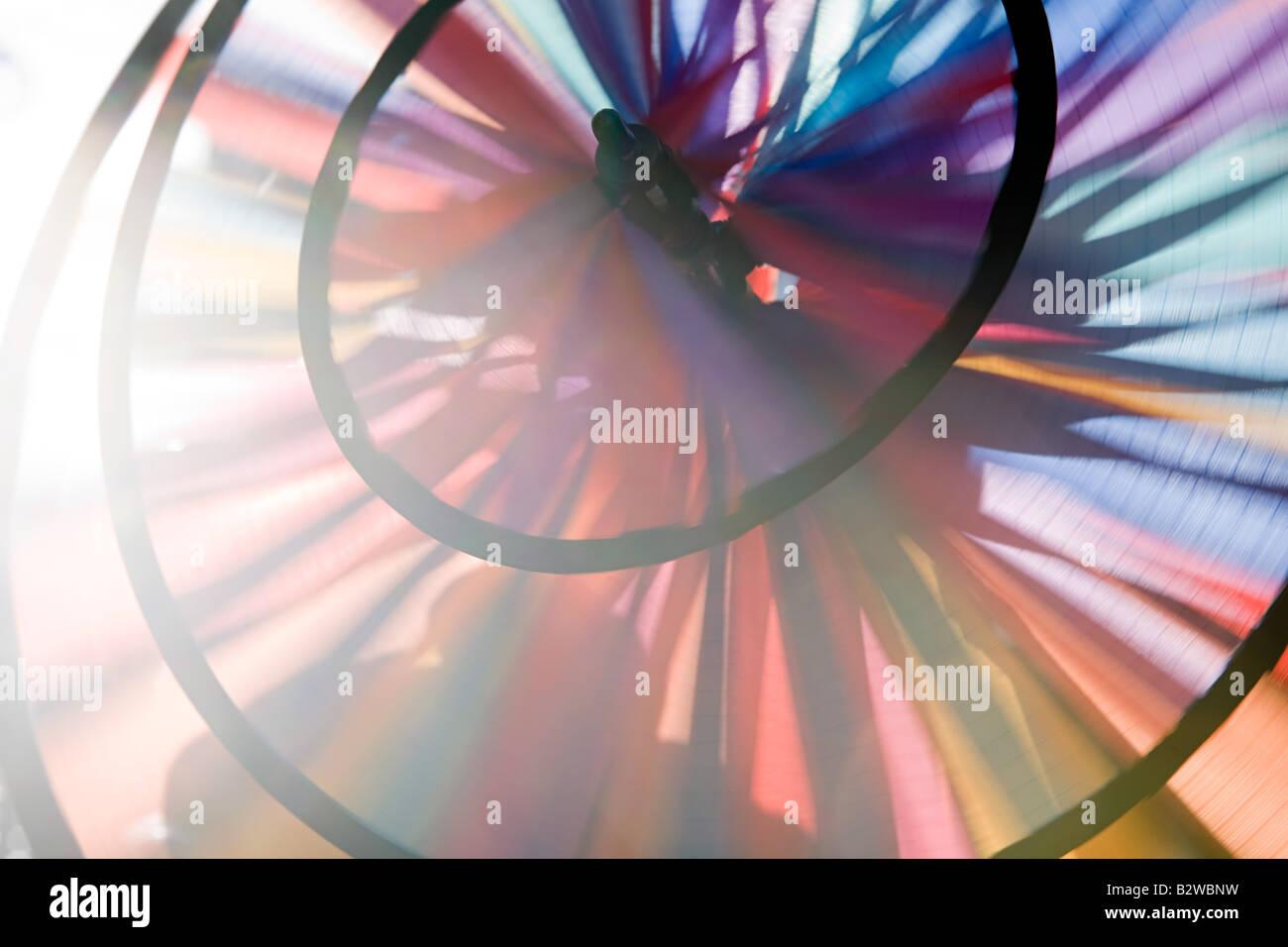 Perto de uma roda de pin Imagens de Stock