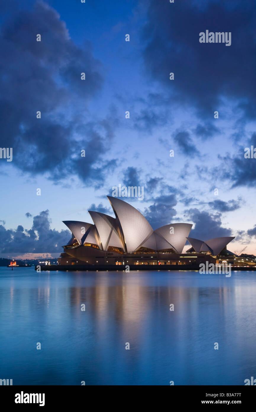 Austrália, Nova Gales do Sul, Sydney, Casa de Ópera de Sydney Imagens de Stock