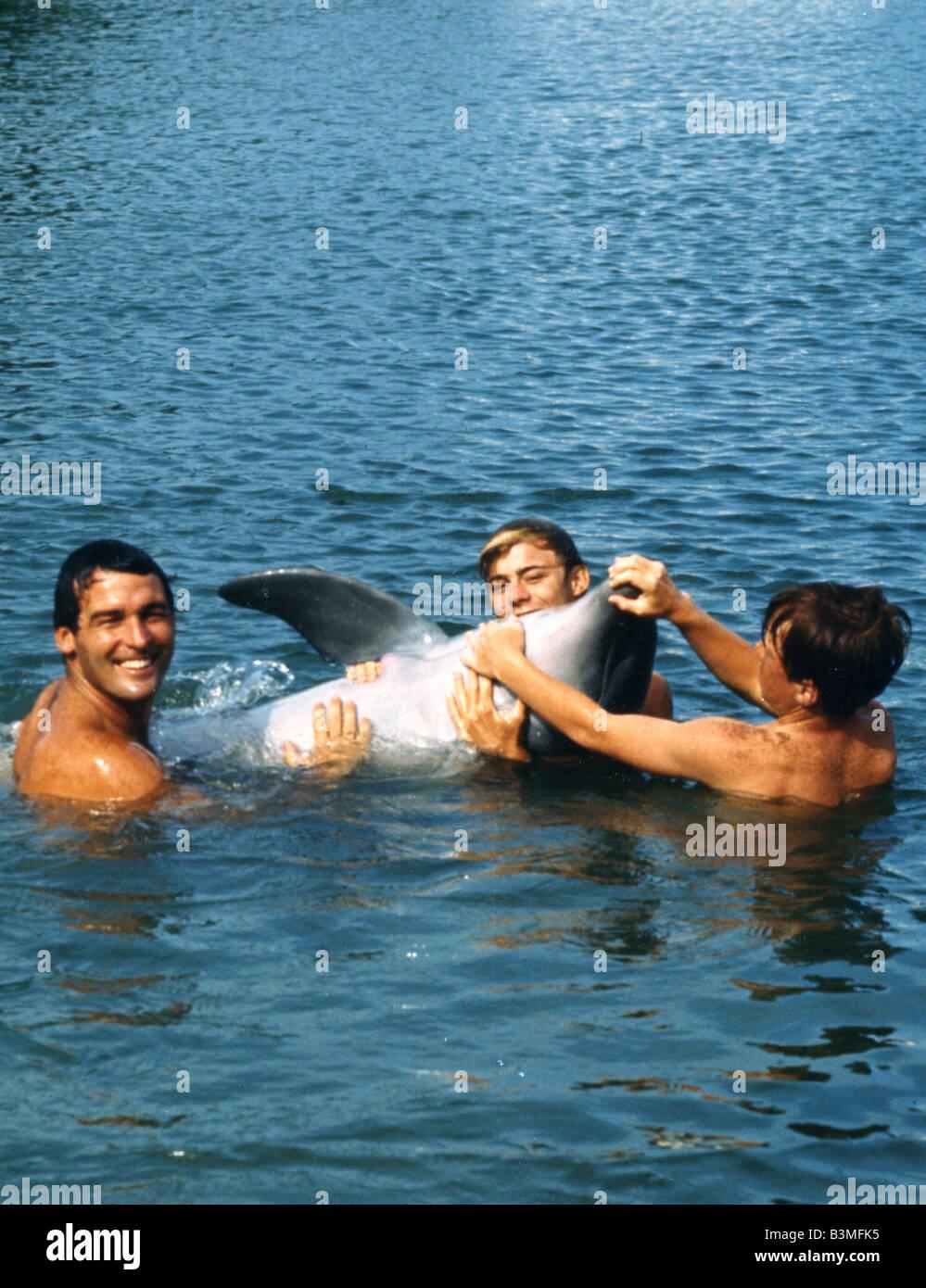 FLIPPER 1963 filme Imagens de Stock