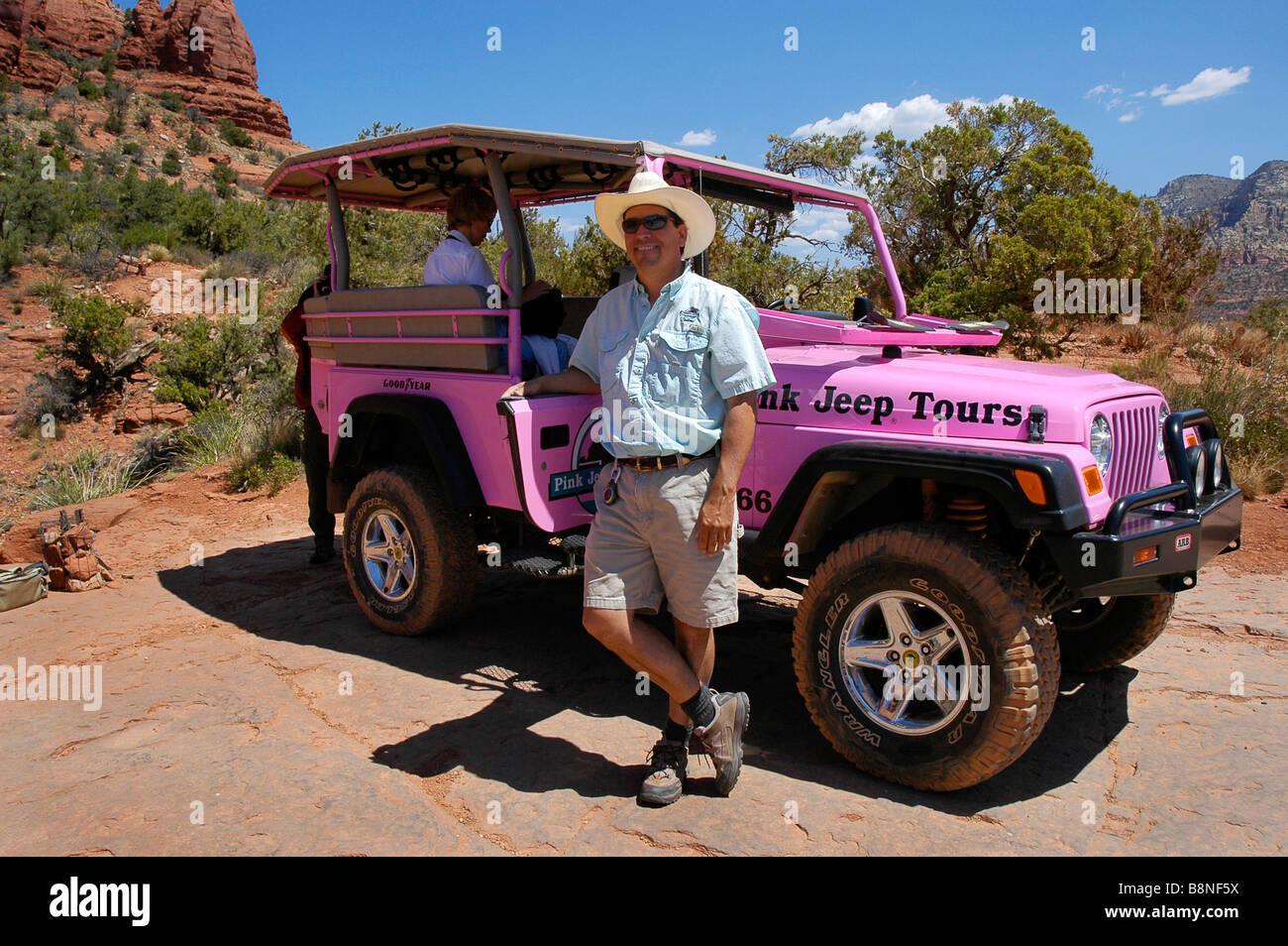 Rosa Jeep Tour Guia Ao Ponto De Frango Perto De Sedona AZ
