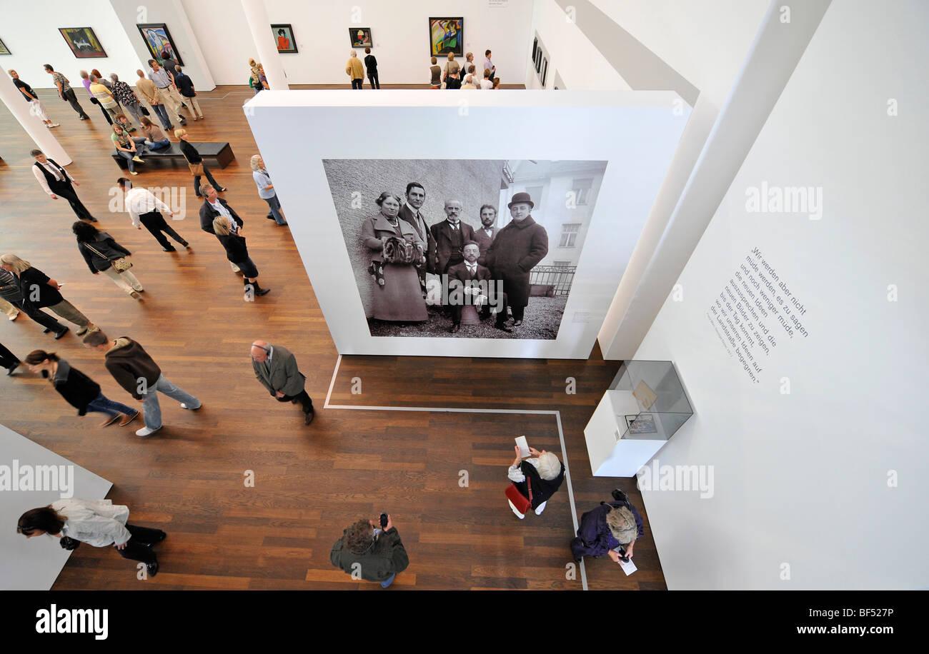 Os Visitantes Do Museu Frieder Burda, Exposição Especial, Der Blaue Reiter,  O Cavaleiro