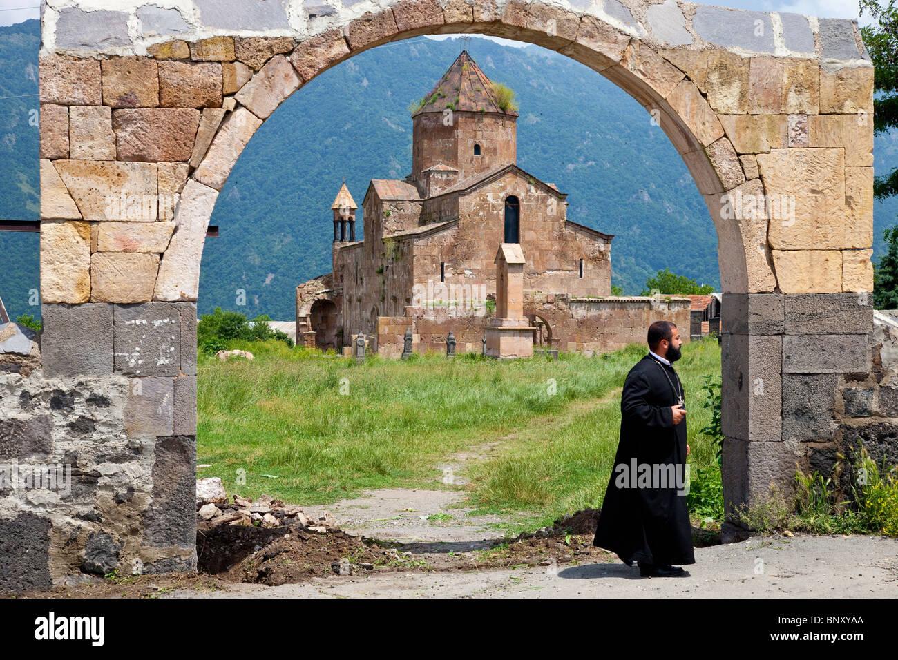 Século VII Odzun Igreja no Desfiladeiro Debed Arménia Imagens de Stock