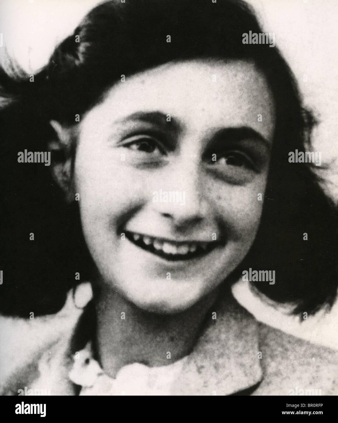 A Casa de Anne Frank (1929-1945) judaica holandês vítima do Holocausto Imagens de Stock