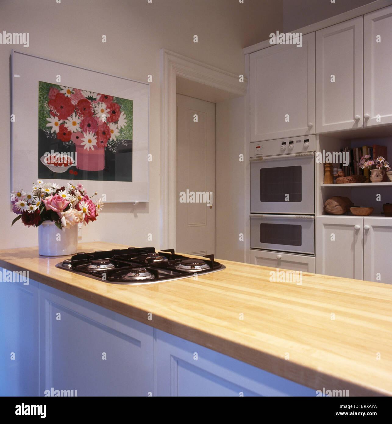 Cozinha Moderna Grande Ventilador Do Extrator Grande Acima De